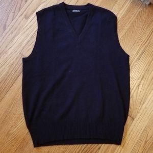 Vintage Brooks Brothers Cashmere V-Neck Sweater